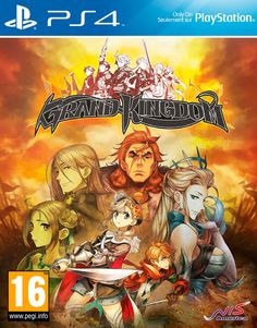 Grand Kingdom PS4 comprar  Ultimagame Latest Video Games f749831d2c2cb