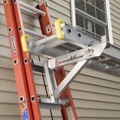 What Is A Ladder Jack? Hunker in house painting ladders Painting Ladders, Safety Ladder, Ladder Accessories, Roofing Tools, Best Ladder, Stairway Walls, Roof Ladder, Aluminium Ladder, Carpentry Tools
