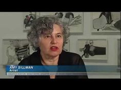 Art World Favorite Amy Sillman's First-Ever Retrospective At The ICA - YouTube
