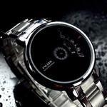 Creative Stainless Steel Men's Military Sport Analog Quartz Wrist Watch