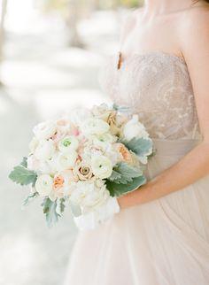 dusty miller + ranunculus bouquet   Natalie Watson