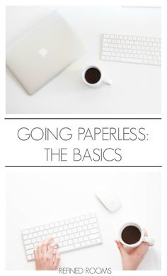 Ready to go paperless (or maybe just paper-less?) Learn all the basics you need to get started here!