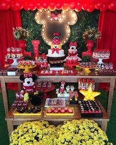 2 aninhos da Leticia com festa linda da Minnie! #festaminnie #festainfantil