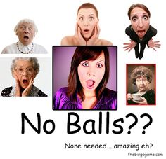 "This is our Teaser Video with our ""No Balls?"" Campaign."