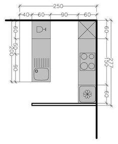 8 plans de cuisine parall le face face diff rentes solutions possibles thomas. Black Bedroom Furniture Sets. Home Design Ideas