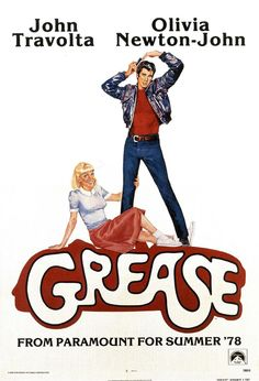 Grease posters for sale online. Buy Grease movie posters from Movie Poster Shop. We're your movie poster source for new releases and vintage movie posters. Old Movie Posters, Classic Movie Posters, Cinema Posters, Classic Movies, 80s Posters, Posters Amazon, Cartoon Posters, Concert Posters, Film Movie