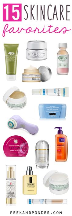 15 skincare favorites