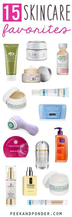 15 skincare favorites