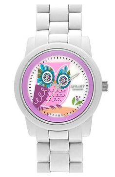 SPROUT™ Watches Diamond Owl Watch | Nordstrom, My mom loves owls... im thinking that this might be a good idea!