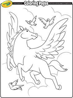Pegasus on crayola.com