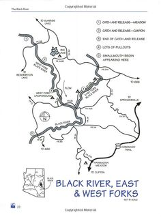 Wilson Creek Fishing Map, Edgemont, North Carolina: Chris