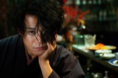 Shun Oguri Plays Novelist Osamu Dazai in No Longer Human Biographical Film Human Movie, Hiro Mizushima, Shun Oguri, Boys Long Hairstyles, Dazai Osamu, Japanese Boy, Anime Hair, Aesthetic Photo, Actors & Actresses