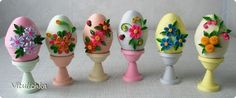 Handicraft product for Easter Easter Paper Quilling Soon band photo 2