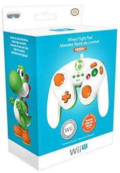 """Pro Classic Controller per il Nintendo Wii U ispirato al controller originale del Gamecube! Disponibile in versione: Mario Bros, Principessa Peach e Yoshi. Studiato appositamente per il videogioco """"Super Smash Bros"""" del WiiU"""