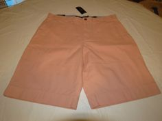 Men's Tommy Hilfiger 38 Classic Fit shorts 555 Dusty Pink 7880825 casual TH #TommyHilfiger #shorts