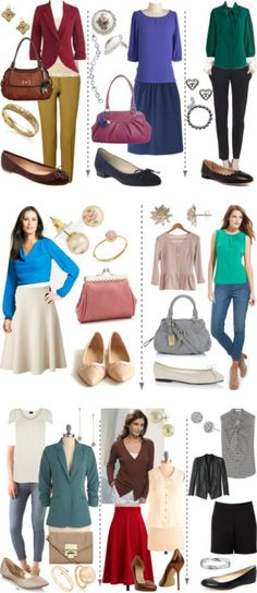 A fashion look from December 2012 featuring ann taylor blouses, petite tops and brown cardigan. Browse and shop related looks. Soft Classic Kibbe, Classic Style, Style Me, Classic Wardrobe, Classic Outfits, Chic Outfits, Soft Summer, Light Spring, Soft Autumn