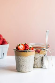 Chia Peanut Butter Pudding / Jennifer Chong