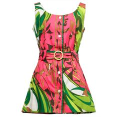 1stdibs | EMILIO PUCCI Pink Dress & Swimsuit Set