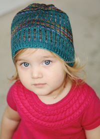 Learn to knit beautiful mosaic designs with this fun hat pattern.