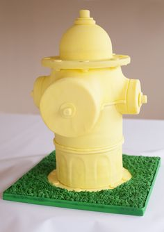 Fire Hydrant Cake - Feeds 72