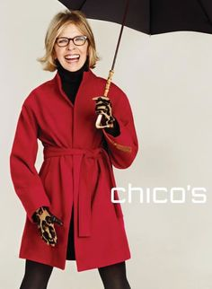 Diane Keaton channels Annie Hall as she lands first EVER fashion campaign at 65