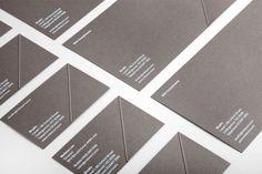 Mitsuori Architects - Business Card Design Inspiration | Card Nerd