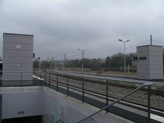 Gare actuelle - quai