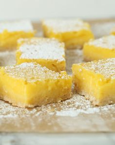 These creamy, tangy lemon bars are perfectly complemented by a sweet, crisp crust made with the all-purpose pantry staple, Bisquick. Recipe: Lemon Bars with Bisquick Crust Related:Sweet-Tart Lemon Bar Recipes