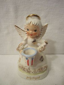 Vintage boy angel for month of May