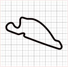 FL Daytona Int L Speedway Moto Course Sticker Vinyl Stickers - Custom vinyl decals portland oregon