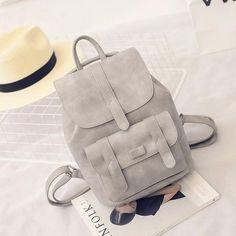 Toposhine PU Leather Backpack