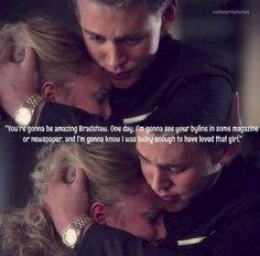 I was lucky to have loved that girl - The Carrie Diaries