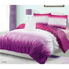 Carmen Ruched Comforter Set
