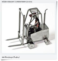 Metalowy wozek widlowy Model Still, Komatsu, Toyota, Jungheinrich