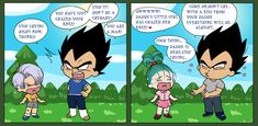 Differences between bra and trunks #Vegeta #DBZ