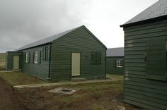Accommodation huts, Ness Battery, Stromness Mar12 Cool Sheds, Outdoor Structures, Studio, Studios