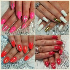 Have you tried foil Nails? A must-have nail art! :