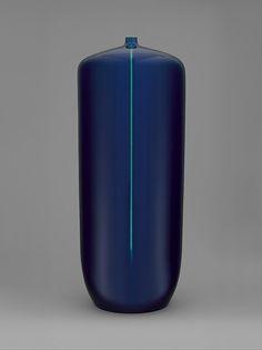 Vase Designer: Tokuda Yasokichi III (Japanese, Komatsu, Kanazawa, 1933–2009) Date: ca. 1997 Medium: . Porcelain Dimensions: H. 24, Diam 9-1/2 inches (61.0 x 24.1 cm) Classification: Ceramics-Porcelain Credit Line: Gift of the artist, 2000 Accession Number: 2000.165