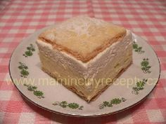 Kremeše 2 Vanilla Cake, Pudding, Desserts, Tailgate Desserts, Deserts, Custard Pudding, Puddings, Postres, Dessert