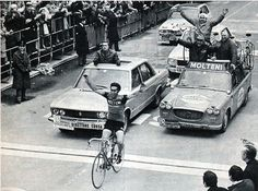 Eddy Merckx winning Milan - San Remo for the fourth time