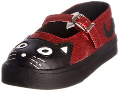 T.U.K Shoes Kids A7873B Mary Jane Kitty Trainer: Amazon.co.uk: Shoes & Accessories