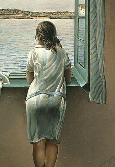 Tberguiguologie : Quand une femme observe le monde par la fenêtre