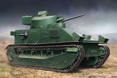 Hobbyboss 1:35 - Vickers Medium Tank MKII (Radio type) HBB83881 #Hobbyboss