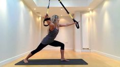How to do TRX Yoga: Beginners Sequence would be a good warm up sequence