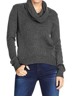 Old Navy | Women's Fine-Gauge Cowl-Neck Sweaters