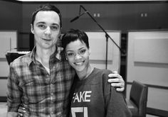 Jim Parson and Rihanna: