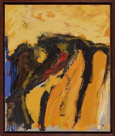 KJELL NUPEN KRISTIANSAND 1955 - D.SST. 2014 Komposisjon, 1990 Olje på lerret, 65x54 cm Signert nede til høyre: K. Nupen