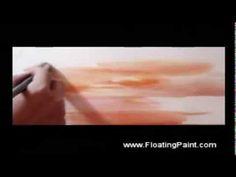 Painting Sea - watercolor demonstration -- Joseph Chiang