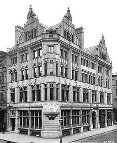 Alliance Insurance Office, 74 King Street, Manchester, 2 Aug 1896