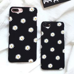 Flower Case For iphone 7 Case Lovely Cartoon Floral Back Cover Hard Phone Cases For iphone7 7 Plus